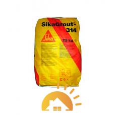 SikaGrout-314 высокопрочный  и безусадочный раствор 25 кг