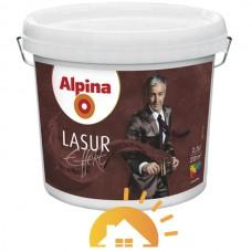 Alpina Лазурь для декоративных интерьеров Lasur Effekt Base, 2,5 л
