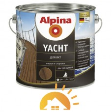 Alpina полиуретаном глянцевый алкидный лак для яхт Yacht, 10 л