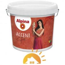 Alpina Эффектная лазурь с белыми акцентными частицами Accent Effekt, 2,5 л