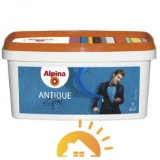 Alpina Прозрачный лак для создания стилизованных под античность интерьеров Antique Effekt, 1 л