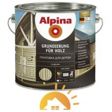 Alpina Прозрачная грунтовка для защиты древесины Grundierung für Holz, 10 л