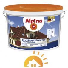 Alpina Матовая краска для защиты крыш Die Beständige für das Dach, Зеленый, 10 л