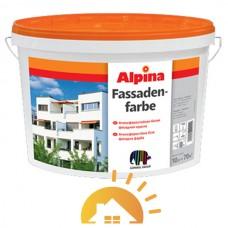Alpina Матовая дисперсионная фасадная краска Expert Fassadenfarbe, 10 л
