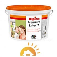 Alpina Шелковисто-матовая латексная краска Premiumlatex 7 B1, 10 л