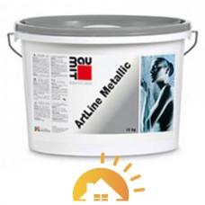 """Baumit дисперсионная краска с эффектом """"металлик"""" ArtLine Metallic, 15 кг"""