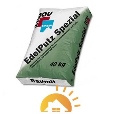 "Baumit минеральная штукатурка 3R ""короед"" Edelputz Spezial White, 25 кг"
