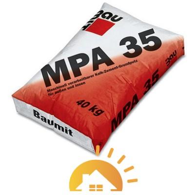 Baumit цементно-известковая штукатурная MPA-35, 25 кг