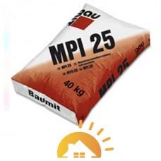 Baumit цементно-известковая штукатурка MPI-25 White, 25 кг