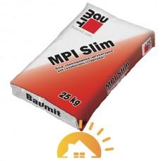Baumit белая тонкослойная цементно-известковая штукатурка MPI Slim, 25 кг