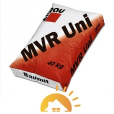 Baumit белая цементно-известковая штукатурная MVR-Uni, 25 кг