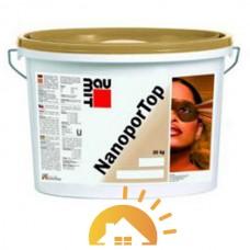 "Baumit Декоративная штукатурка нанопор 1,5K ""барашек"" Nanopor Top, 25 кг"