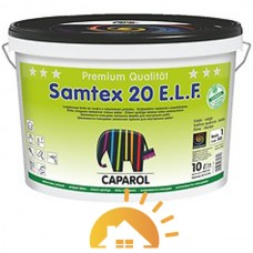Caparol Краска интерьерная латексная Samtex 20 E.L.F. B1, 10 л