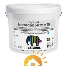 Caparol Дисперсионная штукатурка для наружных работ Capatect-Fassadenputz K15 Transparent, 25 кг