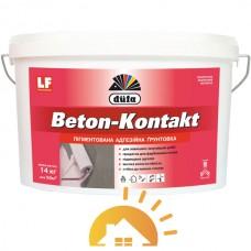 Dufa Пигментированная адгезионная грунтовка Beton-Kontakt, 14 кг