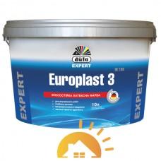Dufa Износостойкая латексная краска Europlast 3 DE103, 10 л