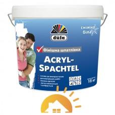 Dufa Готовая к применению финишная шпаклевка Acryl-Spachtel, 16 кг