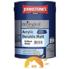 Johnstones Матовая эмульсия краска Acrylic Durable Matt, 10 л