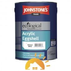 Johnstones Водорастворимая матовая краска c легким блеском Acrylic Eggshell, 5 л