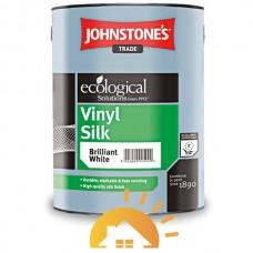 Johnstones Виниловая водоэмульсионная краска с шелковым эффектом Vinil Silk, 10 л