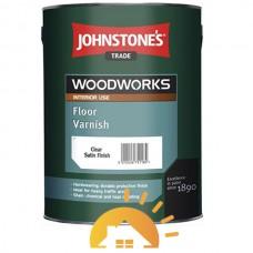 Johnstones Полиуретановый лак для пол Floor Varnish Satin, 2,5 л
