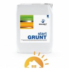 Kolorit Укрепляющий грунт глубокого проникновения на акрилатной основе Start Grunt, 10 л