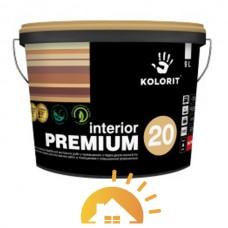 Kolorit Латексная краска для внутренних работ Interior Premium 20, 2,7 л