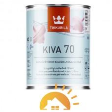 Tikkurila лак для мебели, глянцевый Kiva, 2,7 л