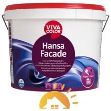 Vivacolor Водно-дисперсионная краска для фасадов Hansa Facade, 2,7 л