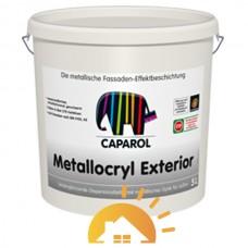 Capadecor Краска дисперсионная с оттеняющим металлическим блеском Metallocryl Exterior, 10 л
