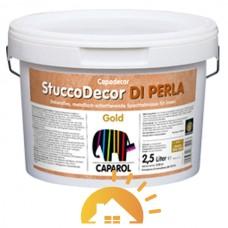 Capadecor Шпаклевка дисперсионная Stucco Di Perla Gold, золотистый, 1,25 л