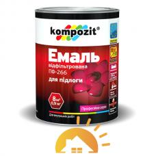 Kompozit Эмаль для пола ПФ-266, Желто-коричневая, 12 кг