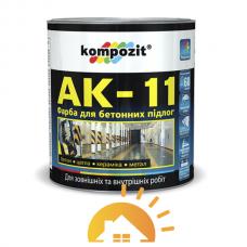 Kompozit Краска для бетонных полов АК-11, База-С, 9 кг