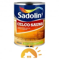 Sadolin Лак для бани Celco Sauna, 2,5 л